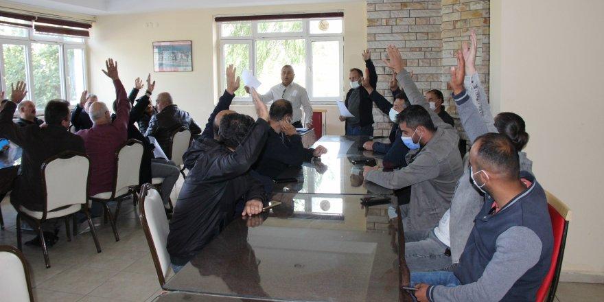 Yozgatspor Başkanı Kazım Arslan yeniden seçildi