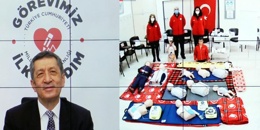 Türkiye genelinde ilk yardım eğitim seferberliği başlatıldı