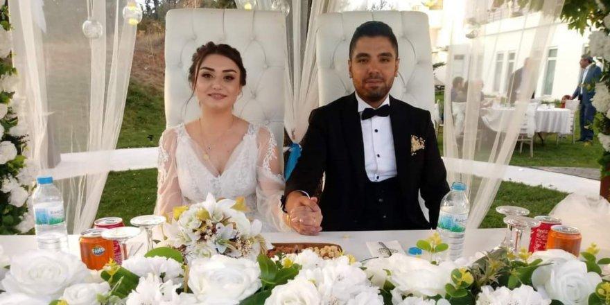 Harun Gökçeoğlu, en mutlu gününü oğlunun düğünüyle yaşadı