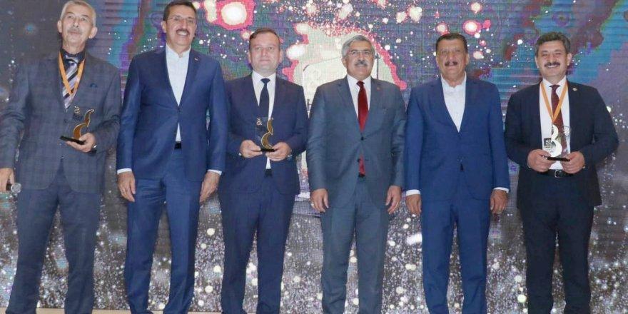 Yerköy Belediye Başkanı Yılmaz'a ödül