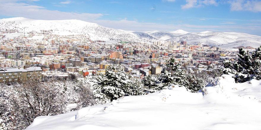 Yozgat'ta okullara kar tatili