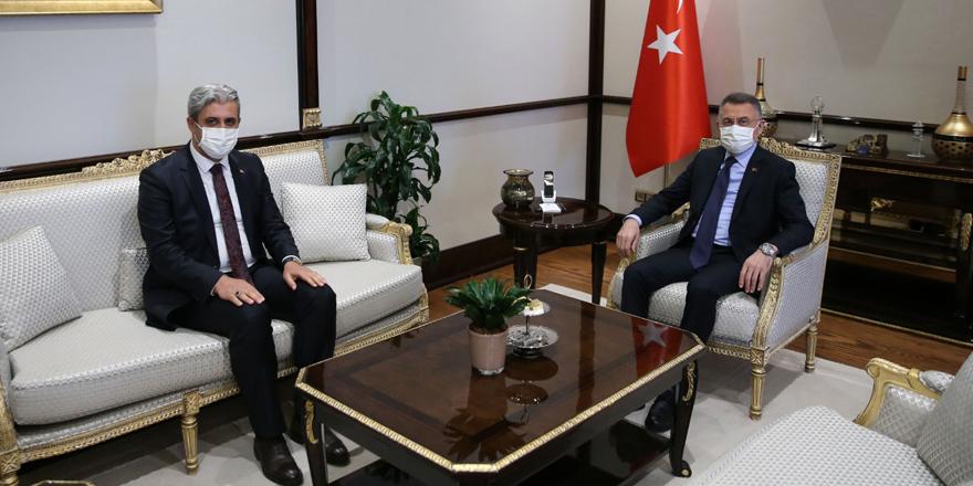 Cumhurbaşkanlığı Külliyesi'nde önemli Yozgat zirvesi