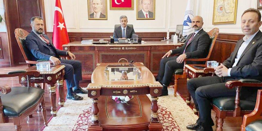 Azeri işadamları Yozgat'a geldi! Zirveyi görüştüler