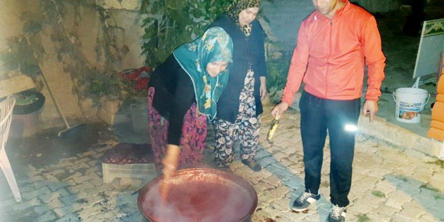 Kışlık salça yapımı geleneği Yozgat'ta devam ediyor