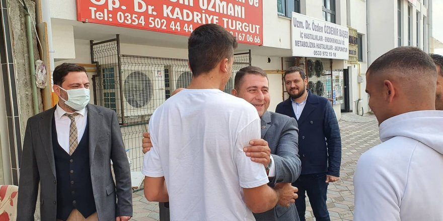 MHP Yozgat Milletvekili Sedef: Bizim boynumuzun borcu
