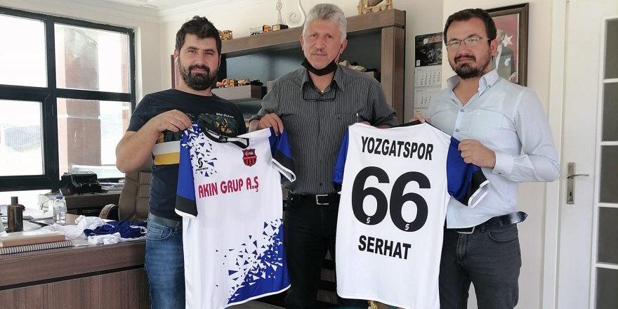 Yozgatspor Masterler Derneği'ne sponspor oldular