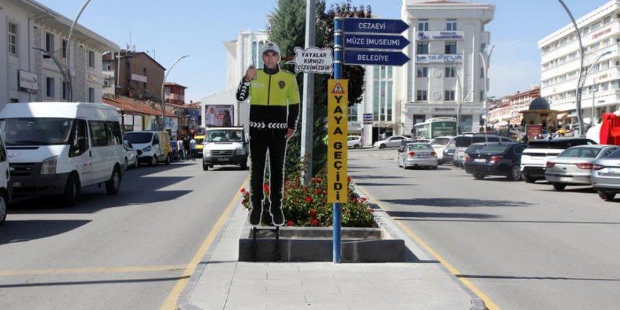 Yozgat'ta maketli uyarı
