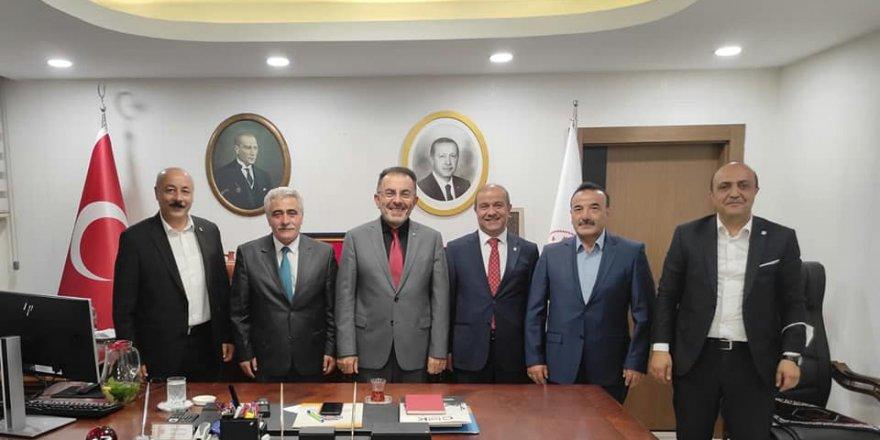 Yozgat SMMMO'dan Bakan Yardımcısı Soysal'a ziyaret