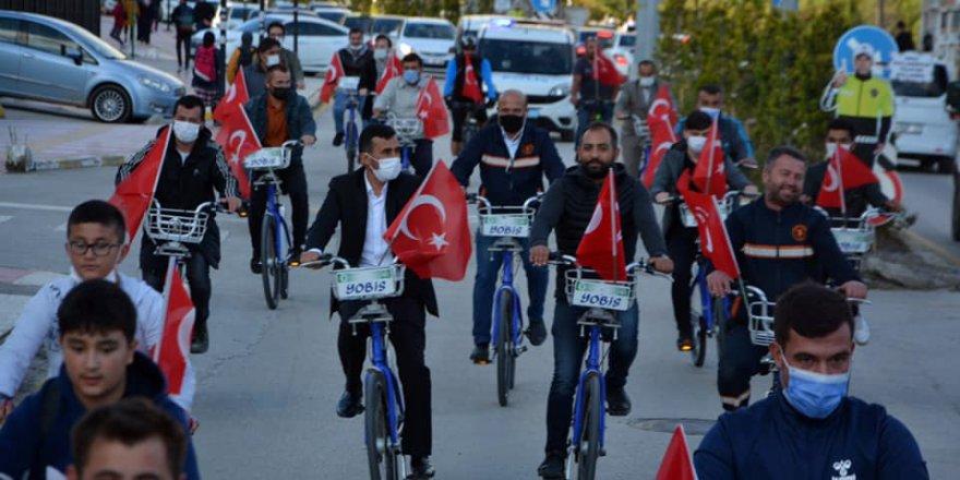 Yozgat'ta bisiklet turu düzenlendi