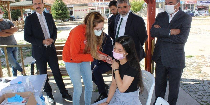 Saraykent'te aşılama çalışmalarına vatandaşın ilgilisi artıyor