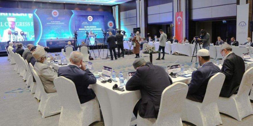 Uluslararası Namaz Vakitleri Kongresi başladı