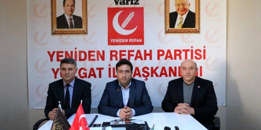 Yeniden Refah Partisi İl Başkanı Kayhan: Yozgat'a iki büyük fabrika kuracağız