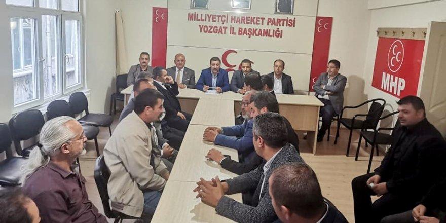MHP Yozgat İl Başkanlığı'ndan istişare toplantısı