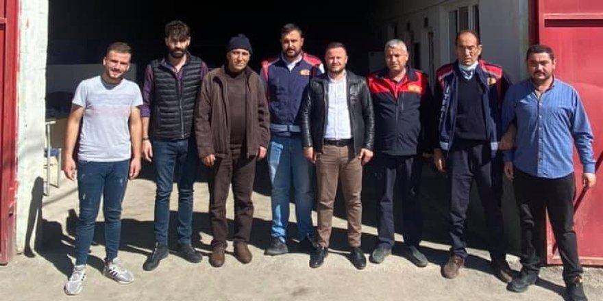 BBP Yerköy İlçe Başkanı Şahin: Canları pahasına görev yapıyorlar
