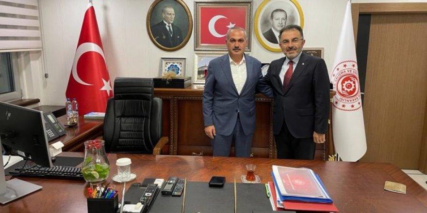 Boğazlıyan Belediye Başkanı Coşar'dan Soysal'a ziyaret