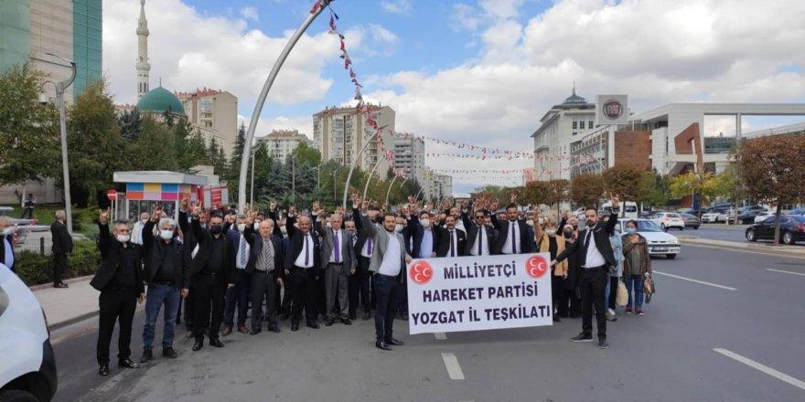 MHP Yozgat Milletvekili İbrahim Ethem Sedef: Var olsun Ülkücü Hareket
