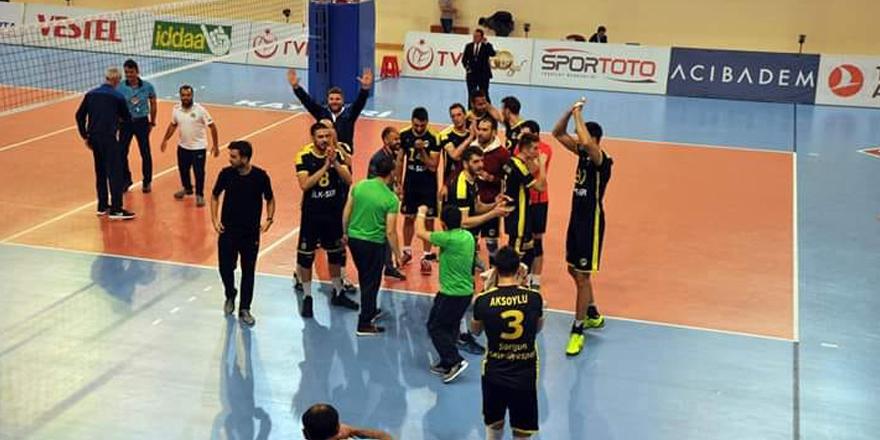 Sorgun Belediyespor ligi yenilgiyle kapattı!