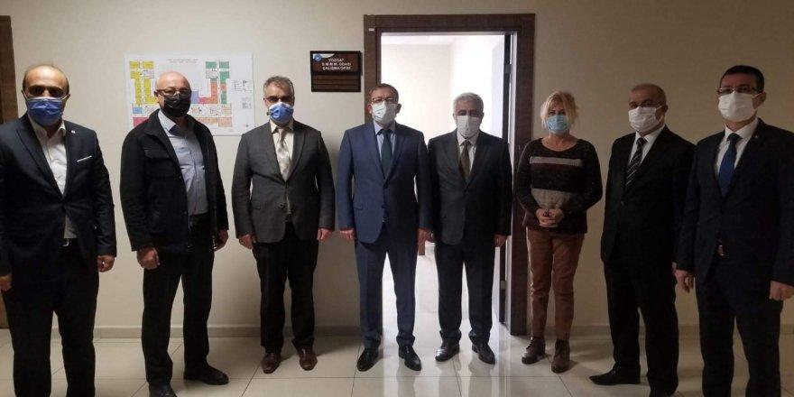Yozgat SMMMO'dan çalışma ofisleri