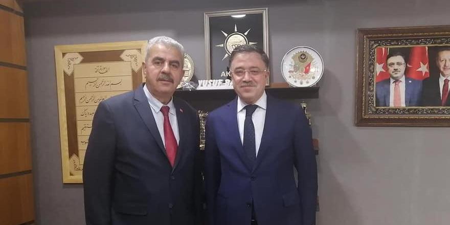Kadışehri Belediye Başkanı Akın'dan Yusuf Başer'e ziyaret