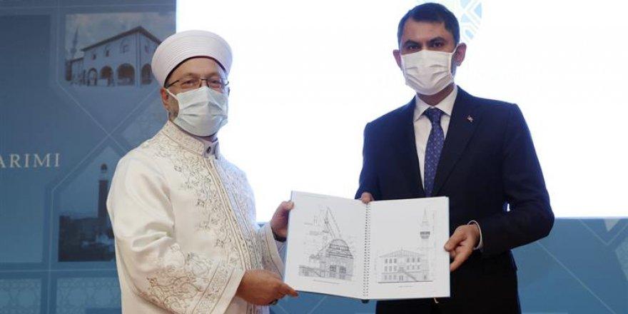 """""""Cami Planlama ve Tasarımı Kılavuzu"""" tanıtım toplantısı Ankara'da yapıldı"""