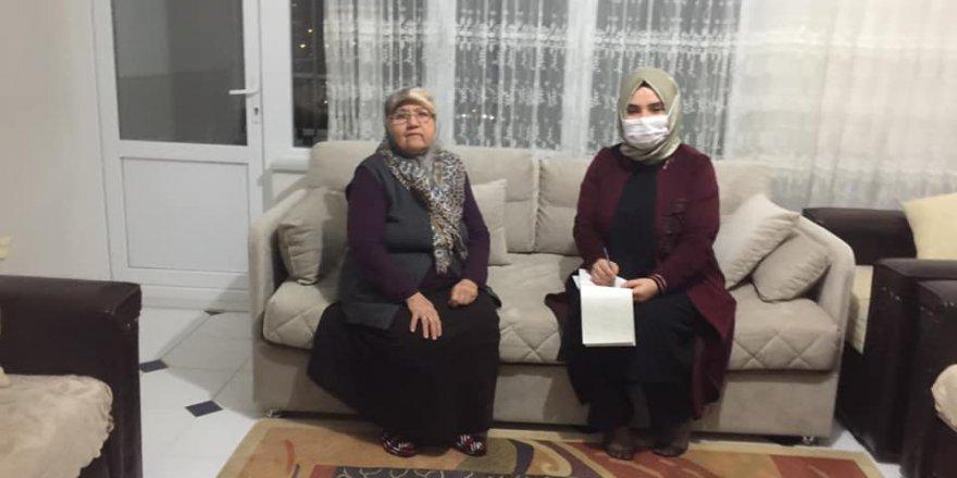 Yozgat'ta AK Partili kadınlardan gönül seferberliği