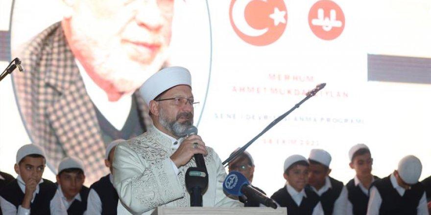 Diyanet İşleri Başkanı Erbaş, Ahmet Mukdat Ziylan'ı anma programına katıldı