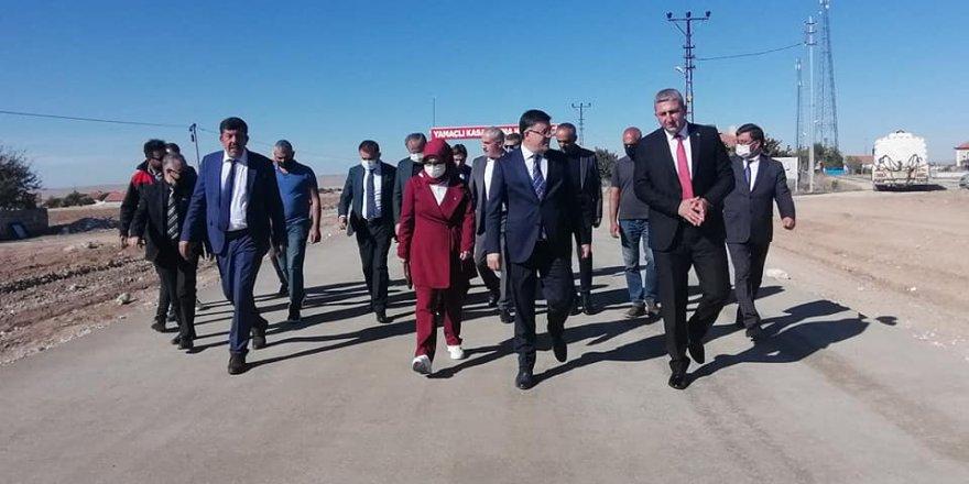 Ak Parti Yozgat Milletvekili Başer'den Yamaçlı ve Yenifakılı'ya ziyaret