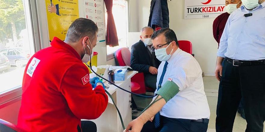 Çekerek Belediye Başkanı Eyyüp Çakır: Kan bağışı, can bağışıdır