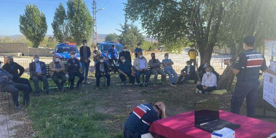 Yozgat'ta vatandaşlara afet farkındalık eğitimi veriliyor