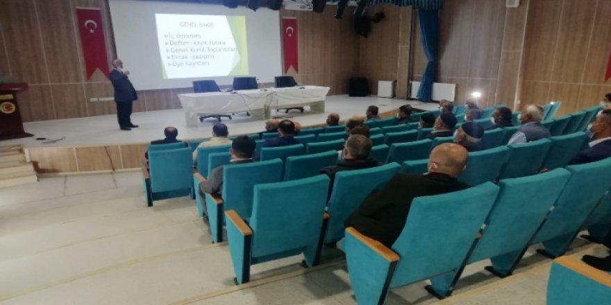 Yozgat'ta bulunan derneklere farkındalık eğitimi verildi
