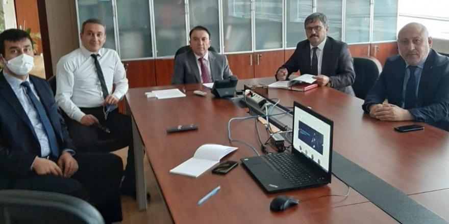 Toprak Mahsulleri Ofisi Genel Müdürlüğü'nde kenevir toplantısı gerçekleştirildi