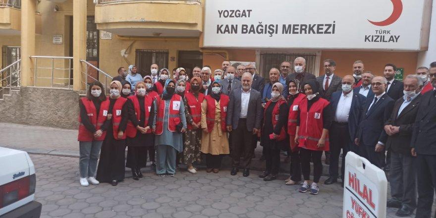 Türk Kızılay Genel Başkanı Kınık Yozgat'ta