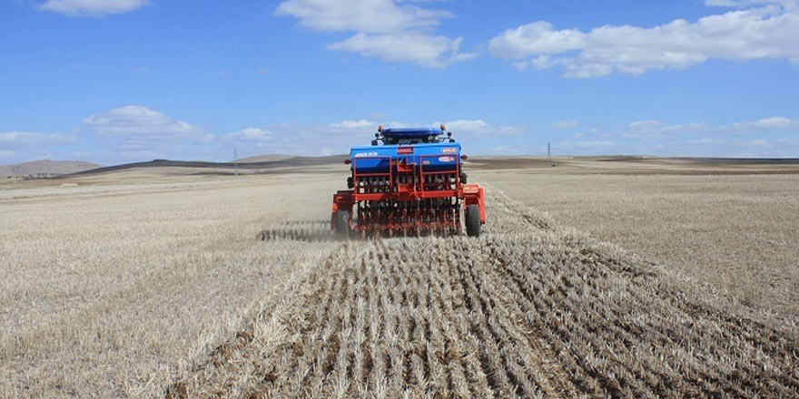 Toprak işlemesiz tarım Yozgat'ta yaygınlaşıyor