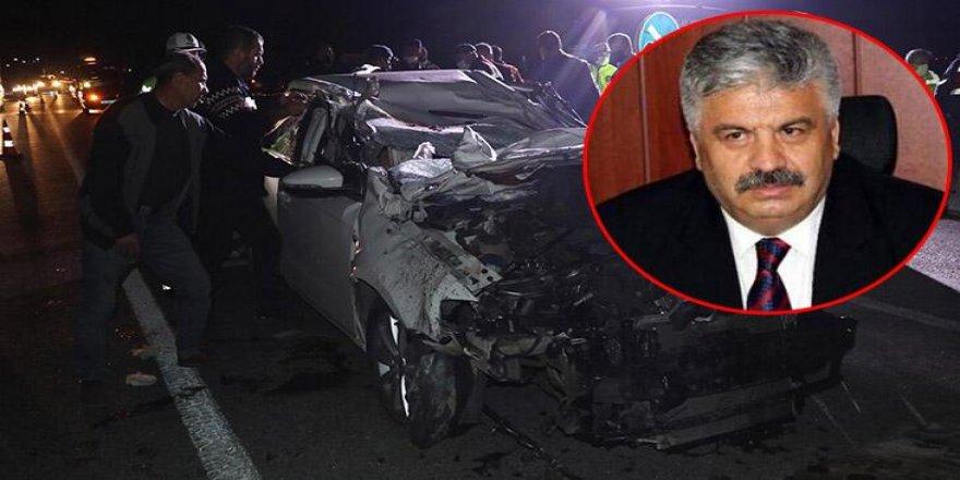 Yozgatlı Emekli Emniyet Müdürü ve oğlu trafik kazasında hayatını kaybetti