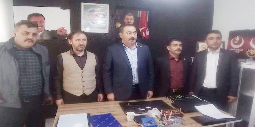 BBP Sorgun İlçe Başkanı yeniden Fatih Koçer seçildi