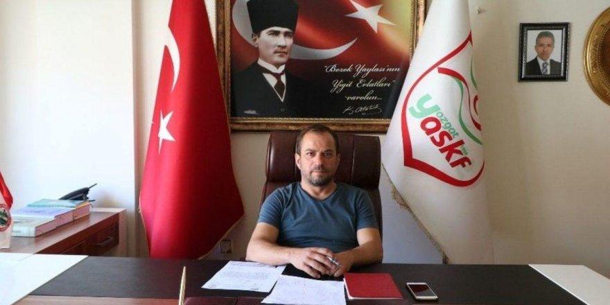 Yozgat ASKF Başkanı Hakan Bektaş'a önemli görev