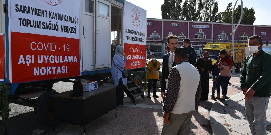 Yozgat'ta aşı noktalarına kış ayarı