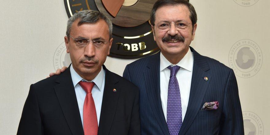 Sorgun TSO Başkanı Arslan açıkladı! Hisarcıklıoğlu'na teşekkür etti