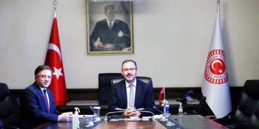 Ak Parti Yozgat Milletvekili Başer'den Bakan Kasapoğlu'na teşekkür