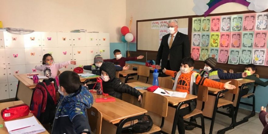 Yozgat İl Mili Eğitim Müdürü: Gönül bahçemizden okul bahçemize hoş geldiniz