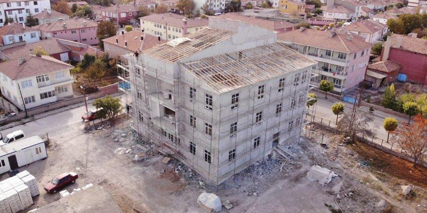 İnşaatı son sürat devam ediyor! Yozgat'ın ilim yuvalarından biri olacak