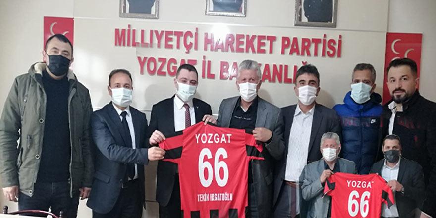 Yozgatspor 66 Masterler Derneği'nden MHP'ye çıkarma