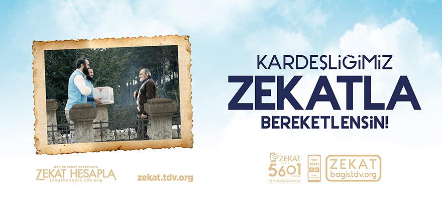 """Türkiye Diyanet Vakfı'ndan """"Kardeşliğimiz Zekatla Bereketlensin"""" seferberliği"""