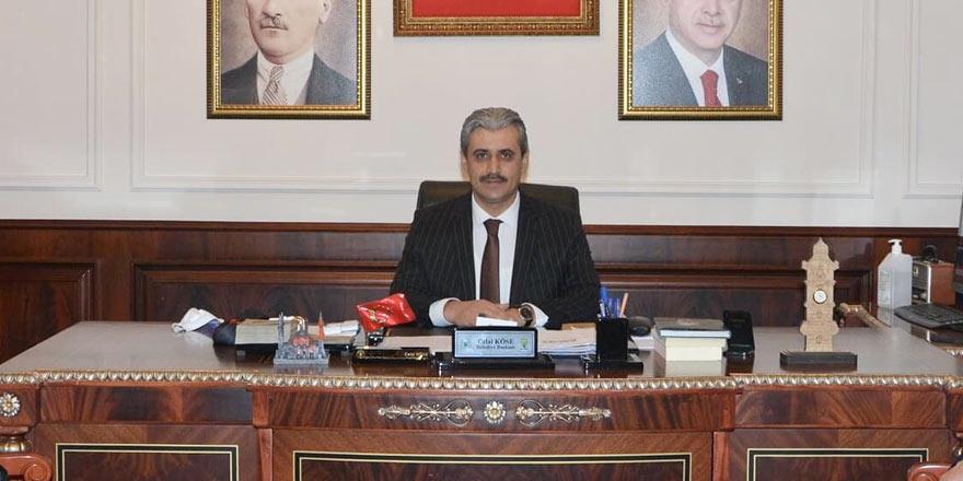 Yozgat Belediye Başkanı Celal Köse'den Rıza Kayaalp paylaşımı