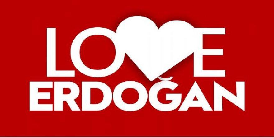 """Yozgat'tan """"Love Erdoğan"""""""
