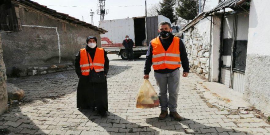 Yozgatlılar ata toprağını unutmaz! Yardımlar ulaştırıldı