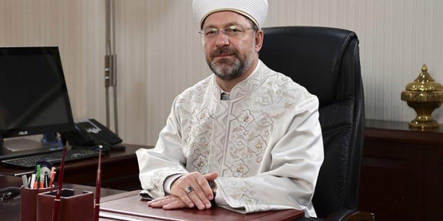 Diyanet İşleri Başkanı Prof. Dr. Ali Erbaş, Türkiye Diyanet Vakfı'nın 46.yılını kutladı