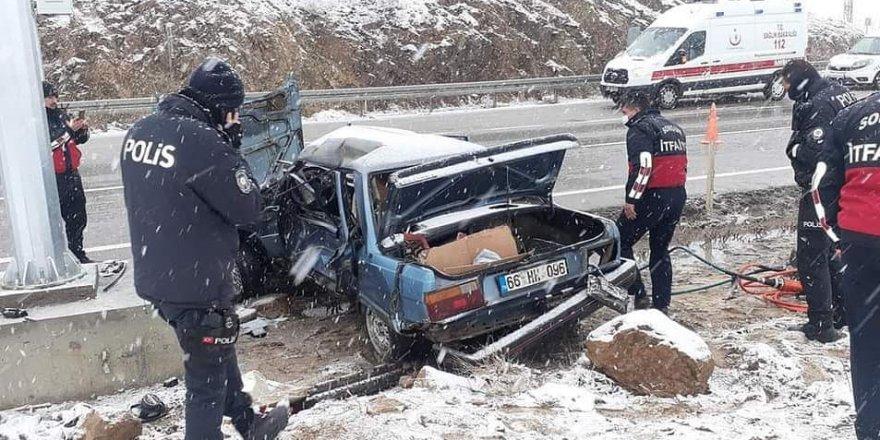 Yozgat'ta iki korkunç trafik kazası: Ölü ve yaralılar var