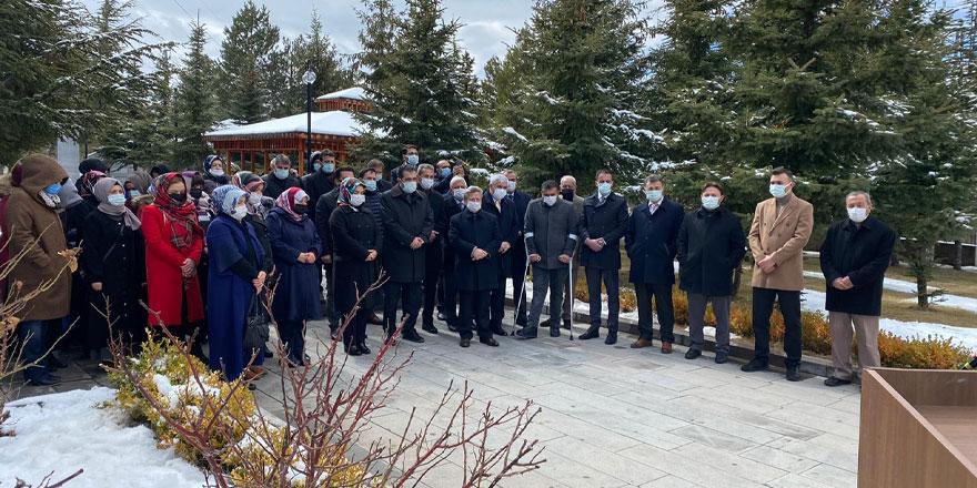 Ak Parti Yozgat İl Başkanlığı'ndan şehitlik ziyareti