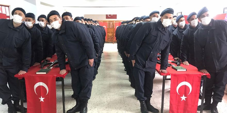 61 acemi er Yozgat'ta yemin etti